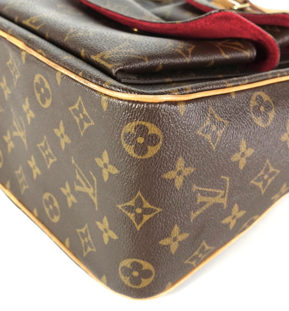 Excentri Cite Monogram Canvas Handbag