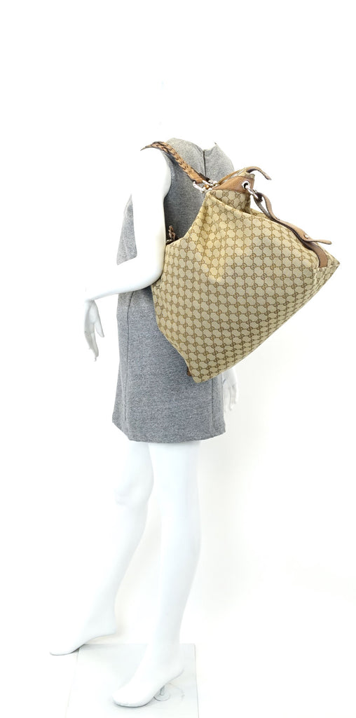 Bamboo Bar Monogram Canvas Large Bag