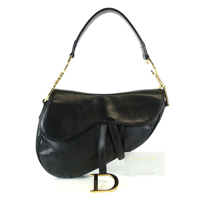 Saddle Smooth Calf Leather Bag