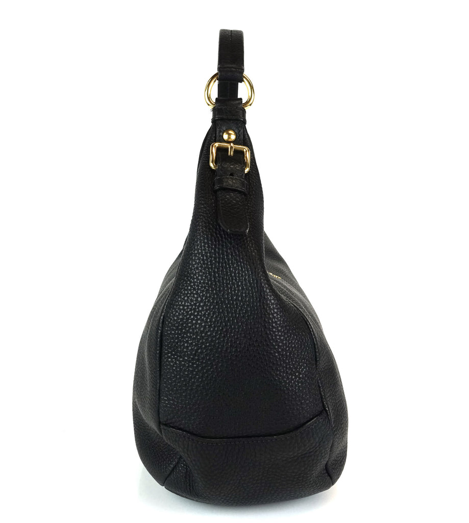 Vitello Daino Leather Medium Hobo Bag