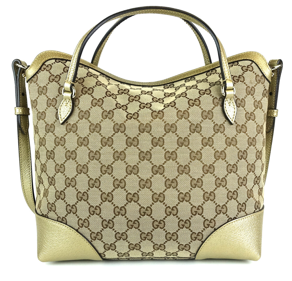 Bree Monogram Canvas Convertible Top Handle Bag