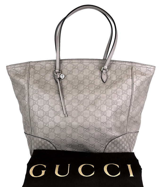 Bree Guccissima Leather Medium Tote Bag