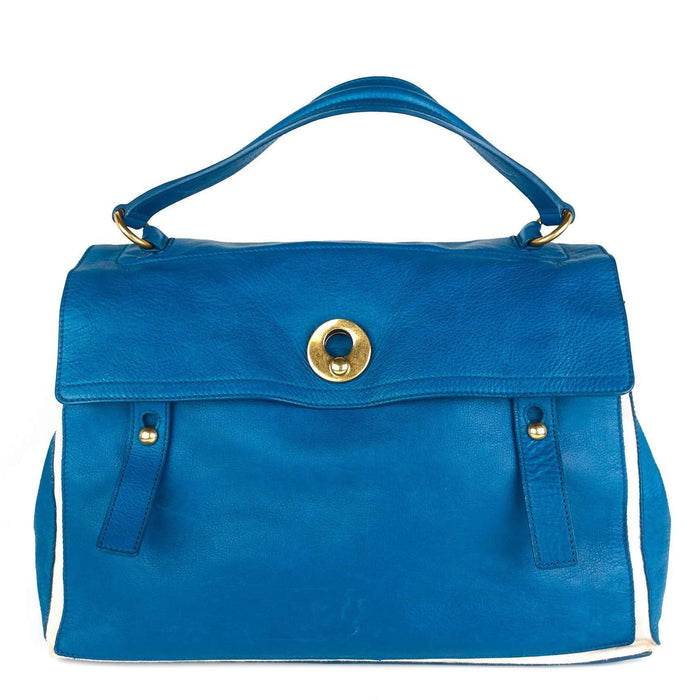Muse Two Bicolour Calf Leather Handbag