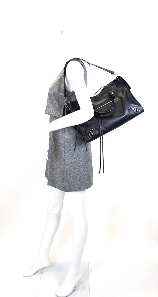 Classic Leather City Bag