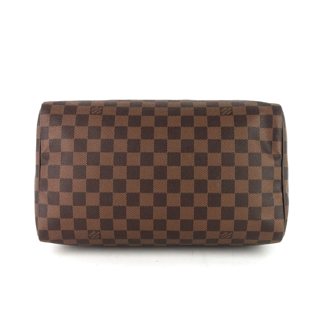 Speedy 30 Damier Ebene Canvas Bag