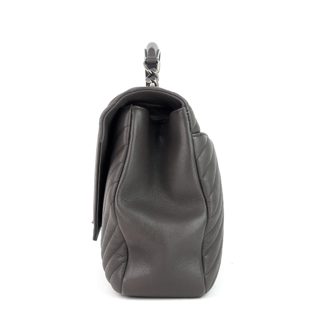 Collège Large Calf Leather Shoulder Bag