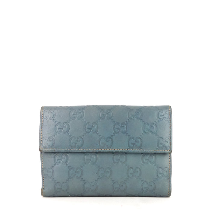 Guccissima Leather Bifold Snap Wallet