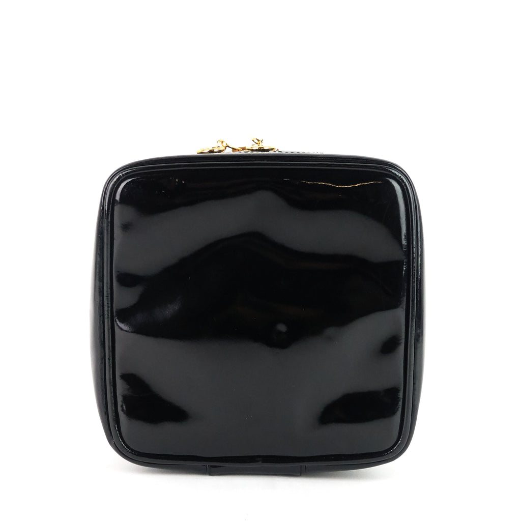 Patent Leather CC Vanity Case