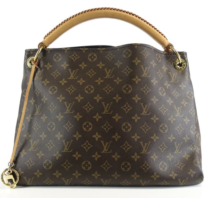 Artsy MM Monogram Canvas Shoulder Bag