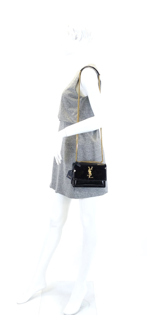 Sunset Patent Leather Small Bag