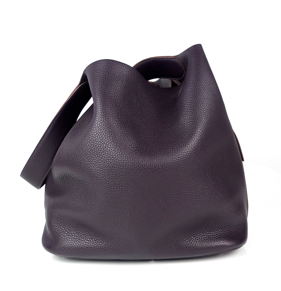 Picotin Lock TGM Taurillon Clemence Leather Bag