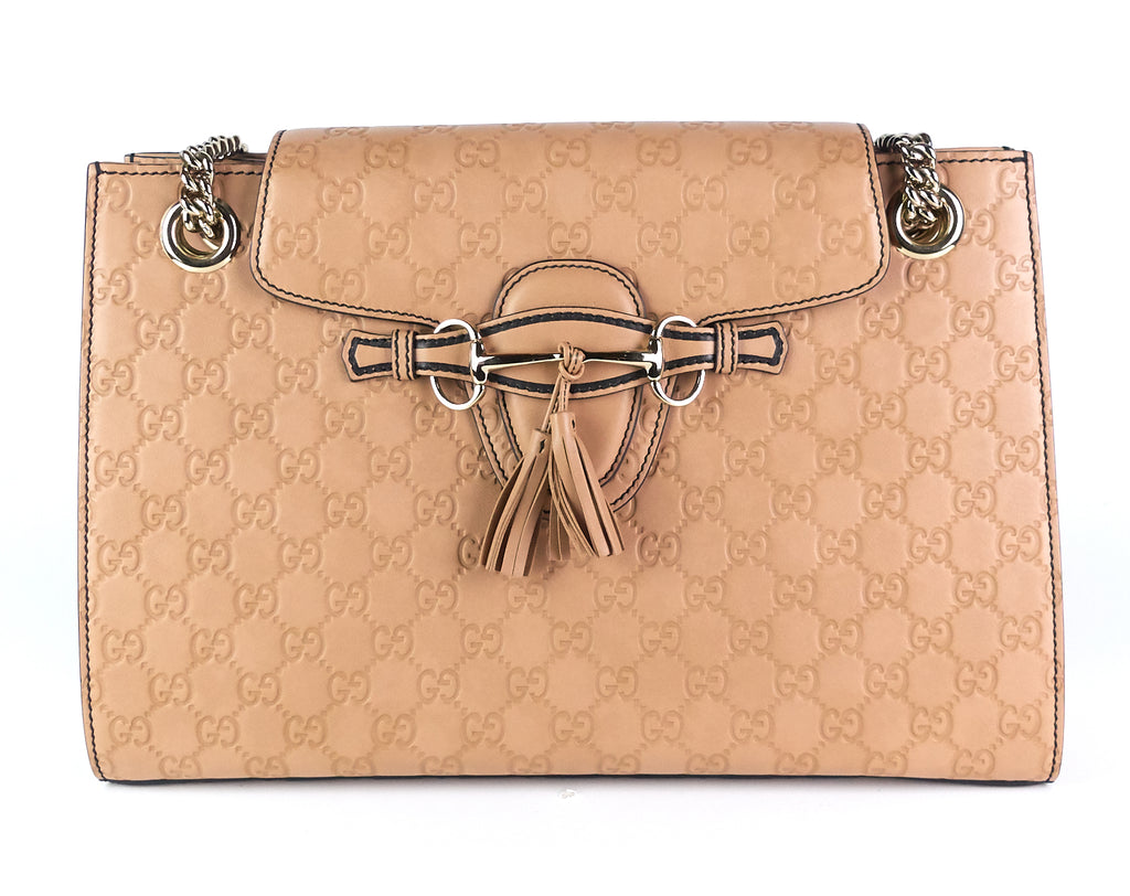 Emily Guccissima Leather Large Bag