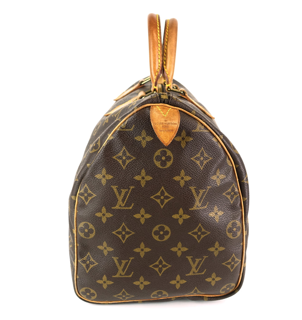 Speedy 35 Monogram Canvas Bag