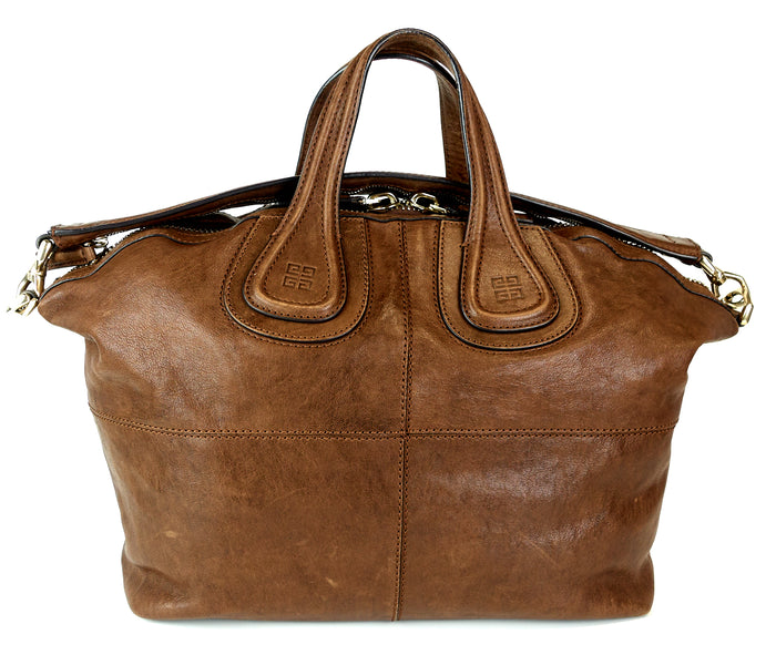 Nightingale Leather Medium Satchel Bag