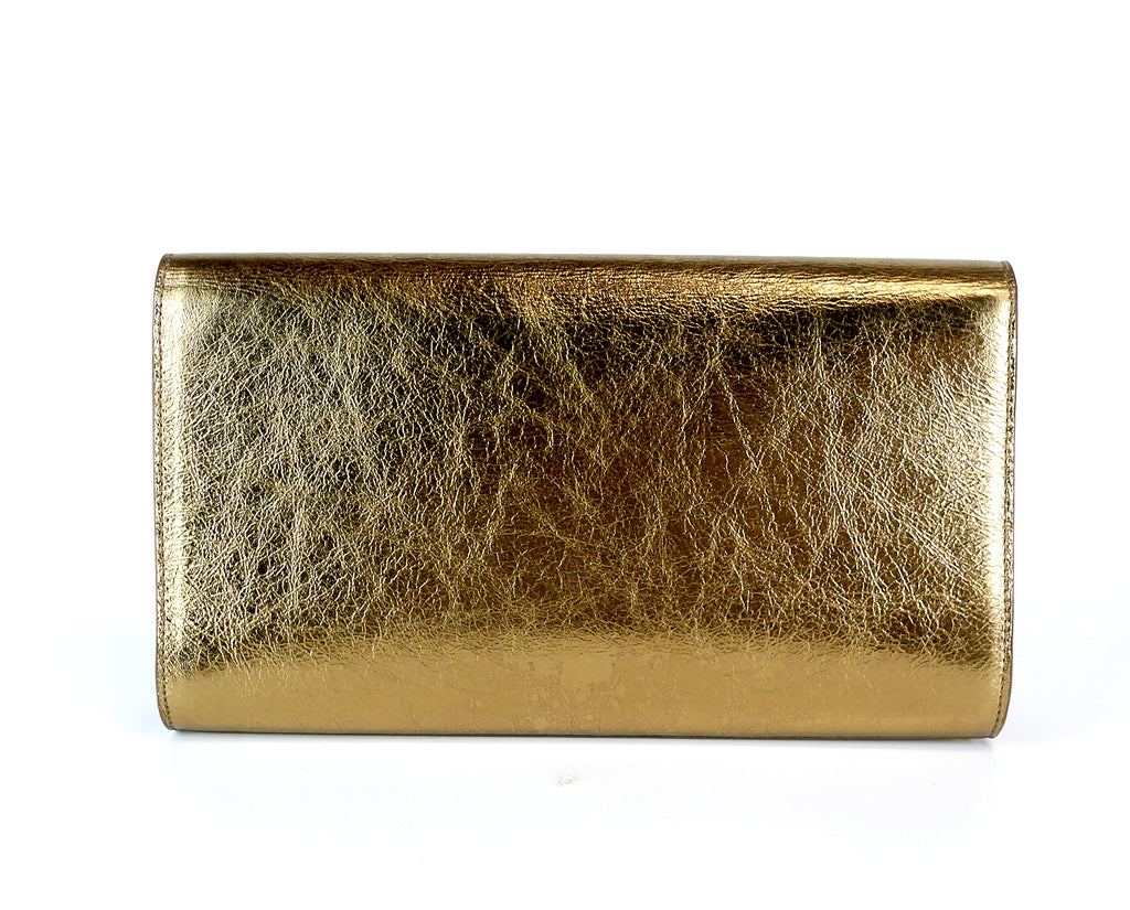 Belle de Jour Leather Clutch Bag