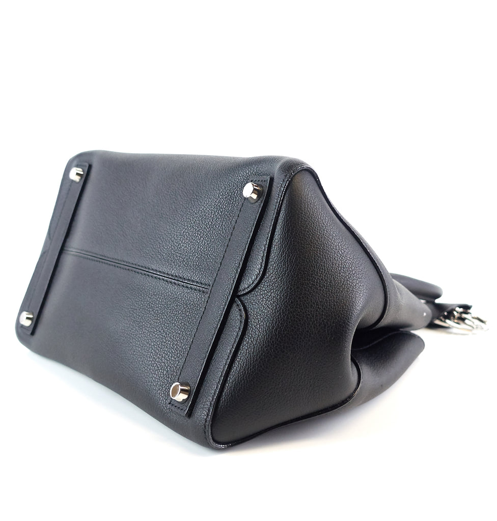 Open Bar Leather Small Bag