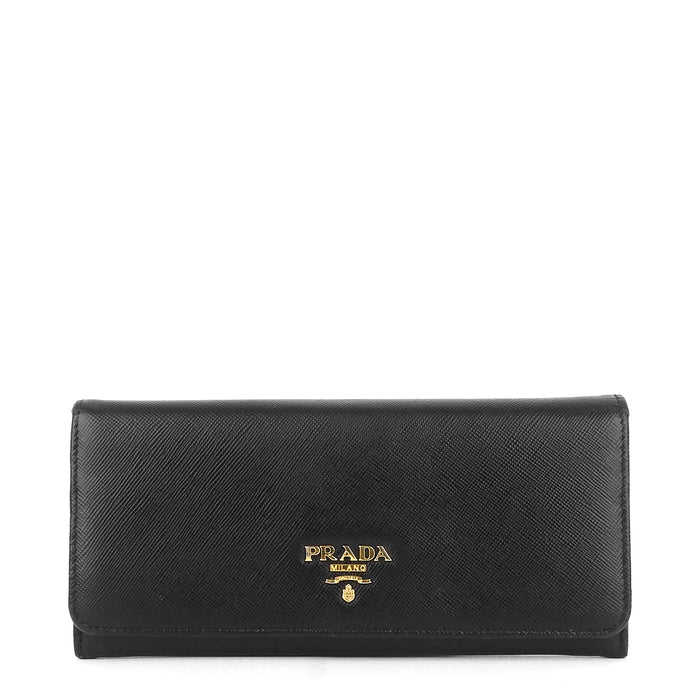 Bifold Large Saffiano Leather Wallet