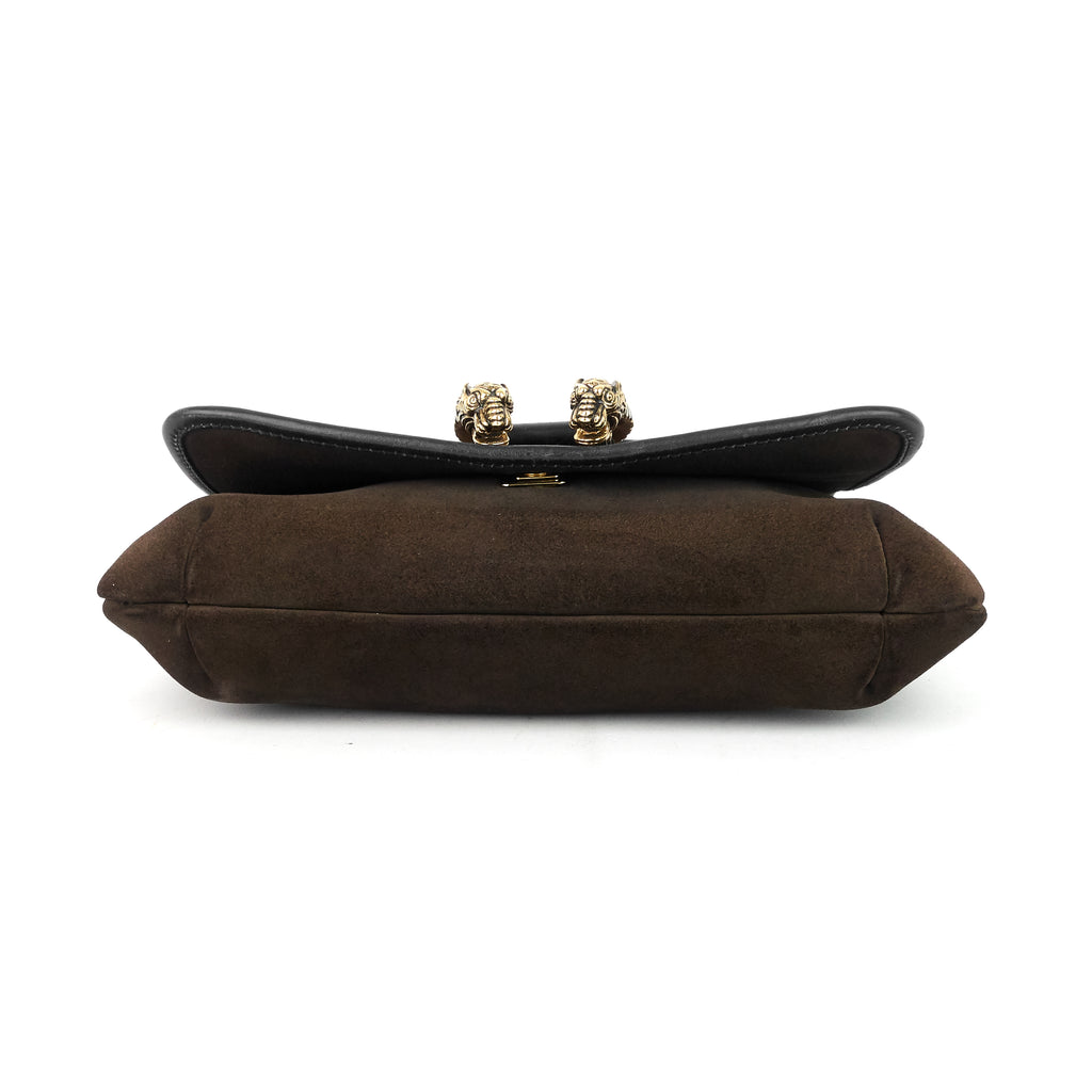 Dionysus Vintage Suede and Leather Shoulder Bag