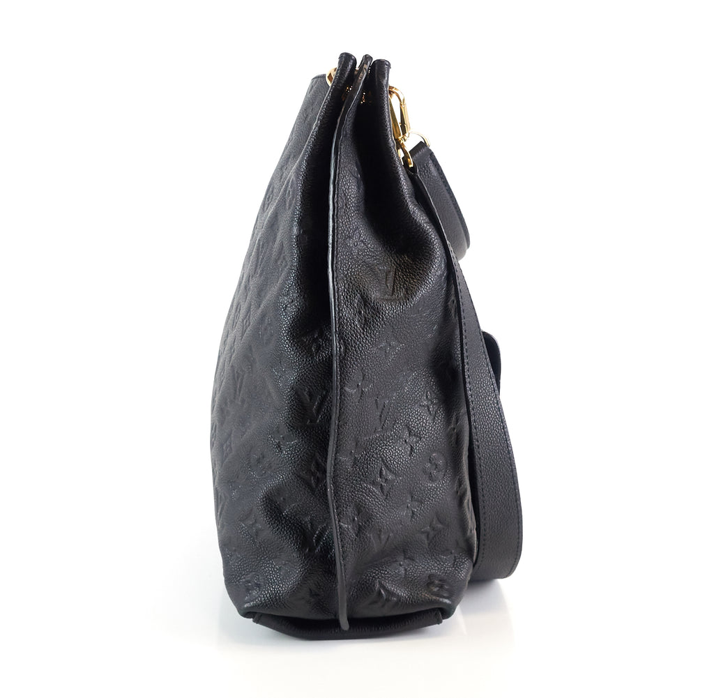 Metis Monogram Empreinte Leather Hobo Bag