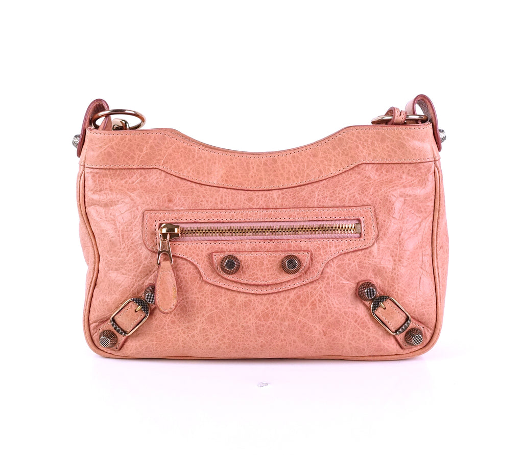 Arena Hip Leather Giant Studs Bag