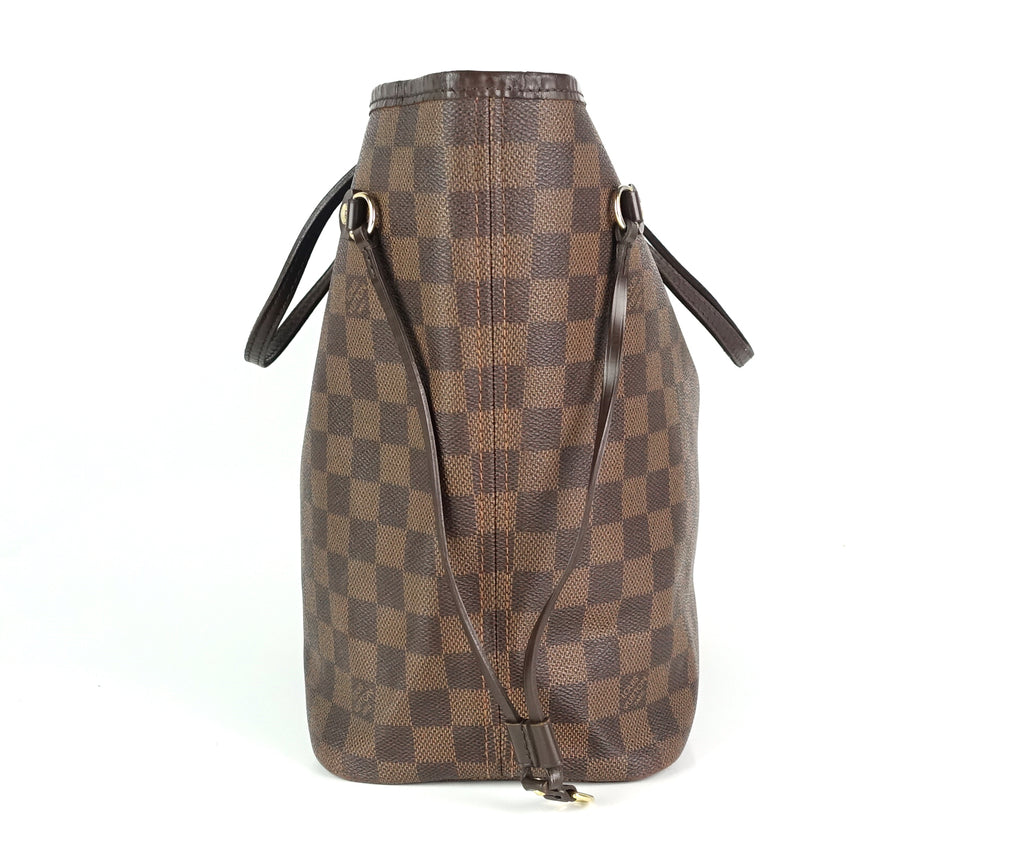 Neverfull MM Damier Ebene Canvas Bag