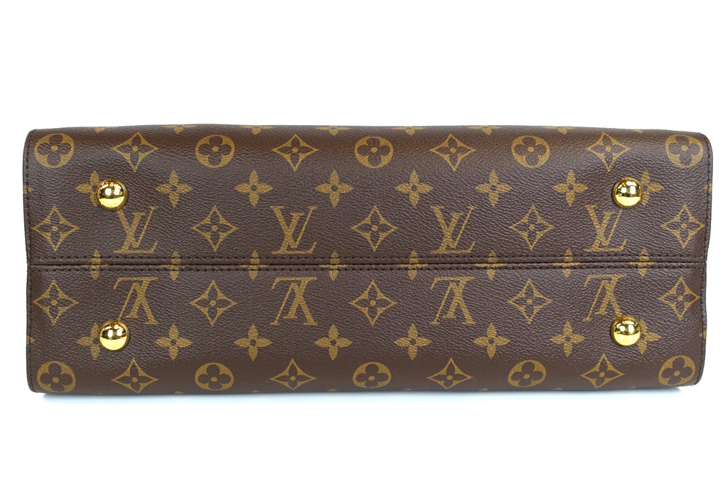 Tuileries Monogram Canvas Three-Tone Leather Bag