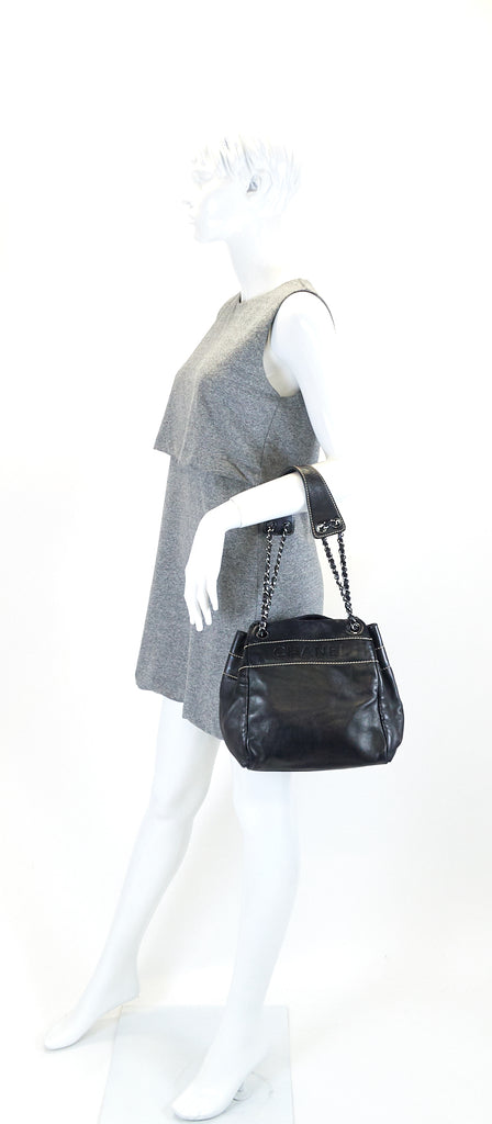 Lambskin Leather Shoulder Bag