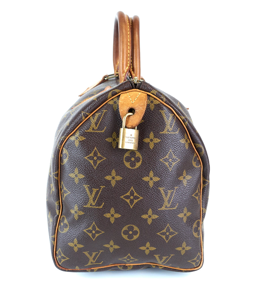 Speedy 30 Monogram Canvas Bag