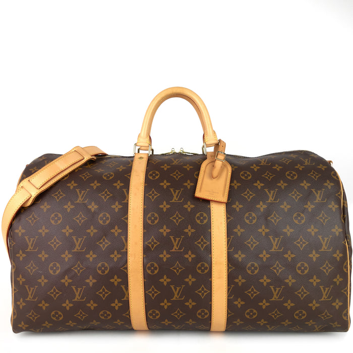 Keepall Bandouliere 55 Monogram Canvas Bag