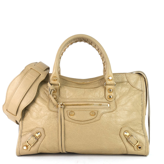 Classic City Small Agneau Leather Bag