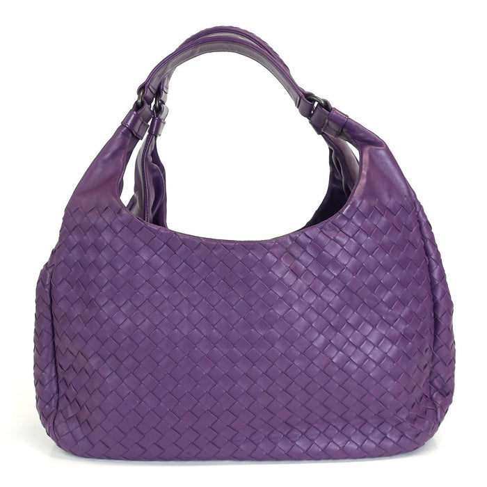 Campana Intrecciato Nappa Leather Medium Hobo Bag