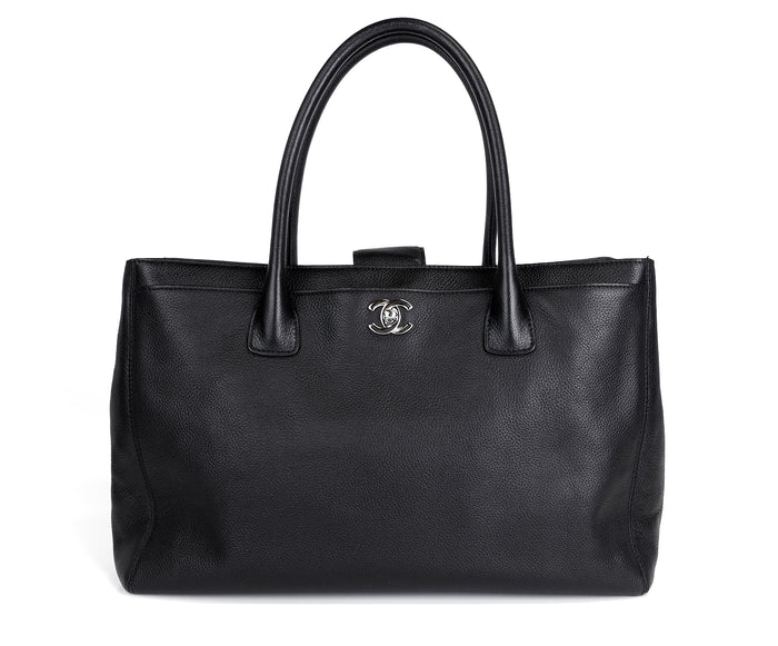 Cerf Executive Caviar Leather XL Tote Bag