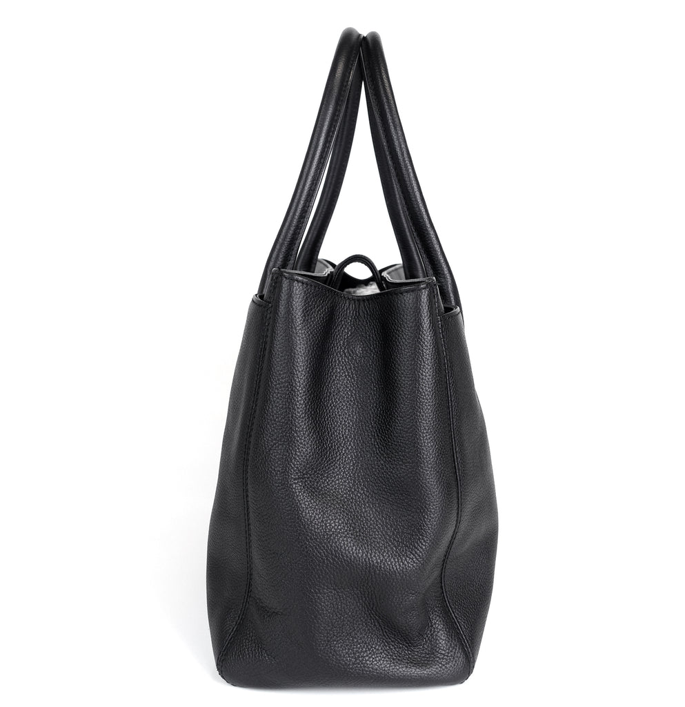 Cerf Executive XL Caviar Leather Tote Bag