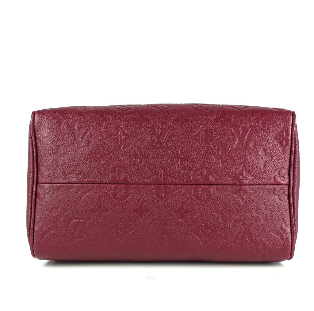 Speedy 25 Bandouliere Monogram Empreinte Leather Bag