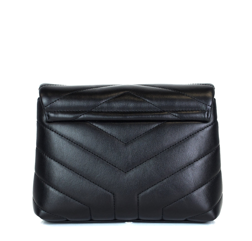 Loulou Toy Matelasse Chevron Leather Bag