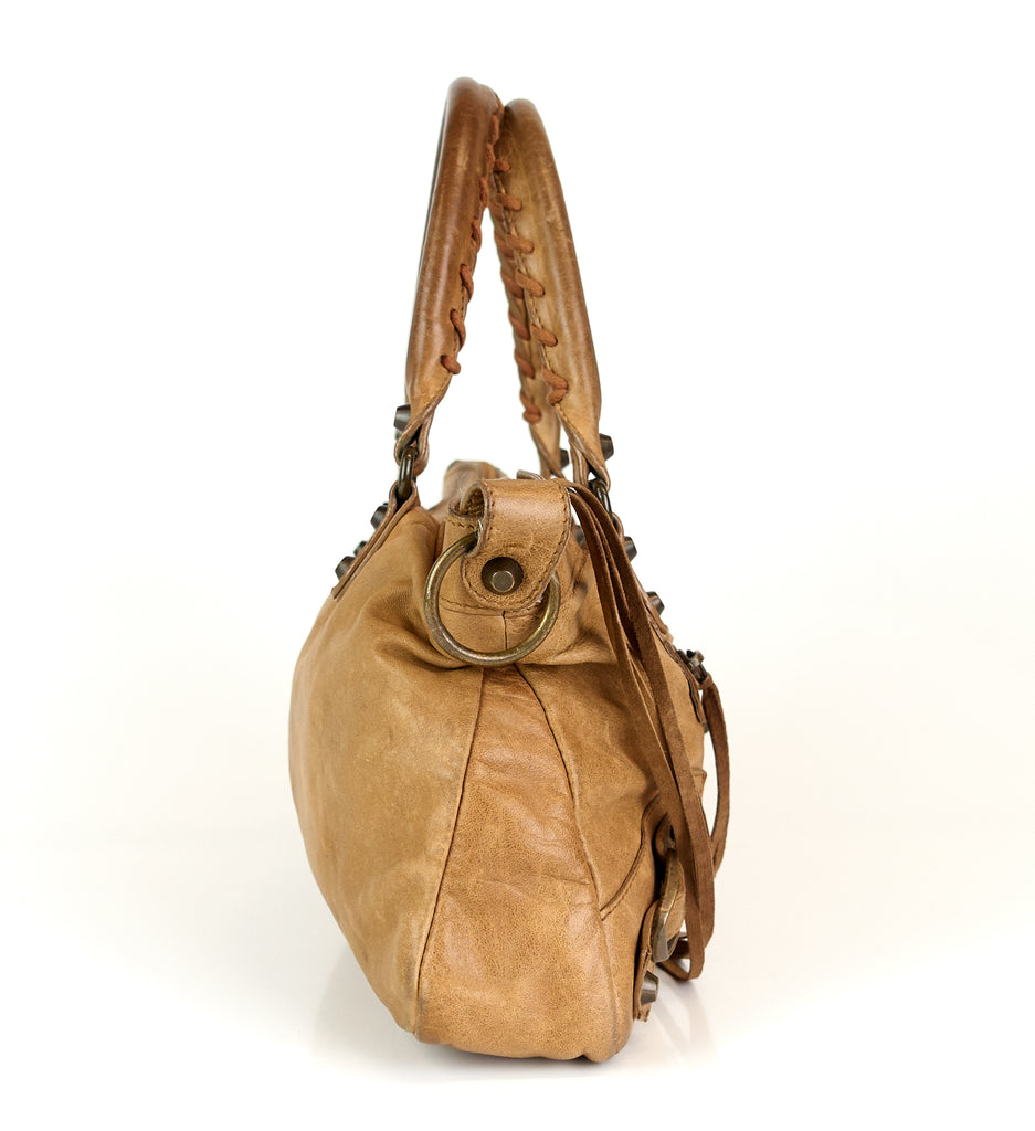 Classic First Chèvre Leather Bag