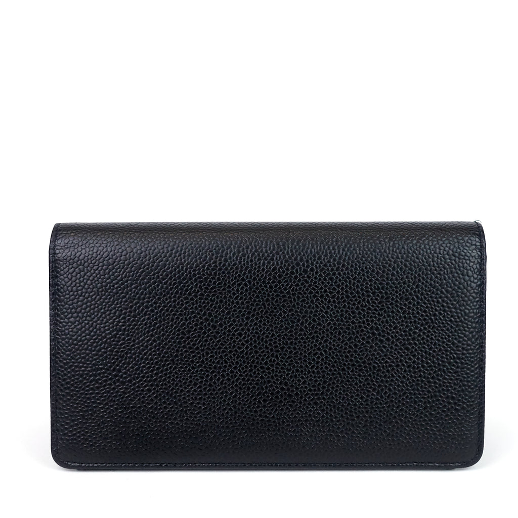 CC Bifold Caviar Leather Wallet