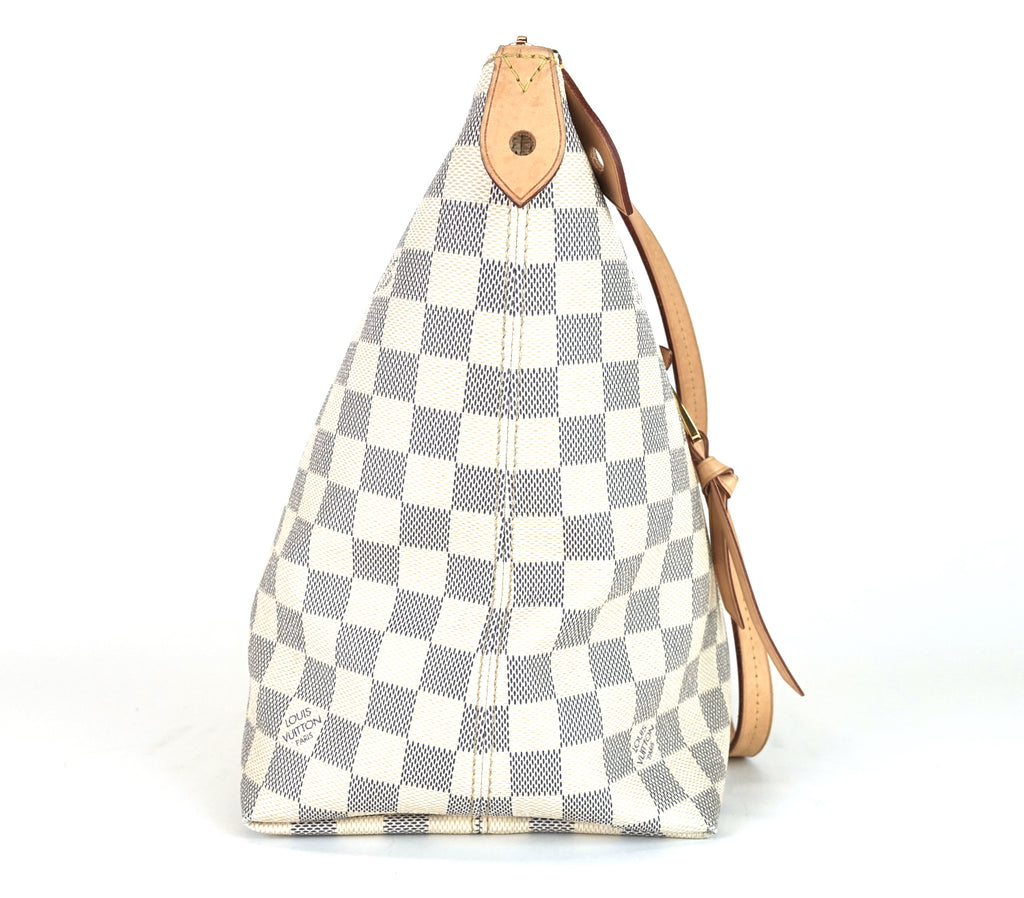 Iena MM Damier Azur Canvas Bag
