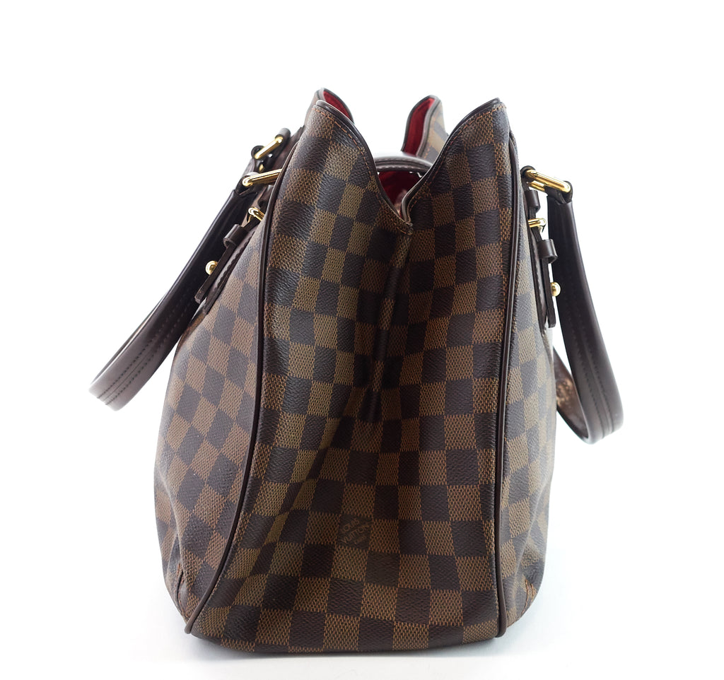 Griet Damier Ebene Canvas Bag