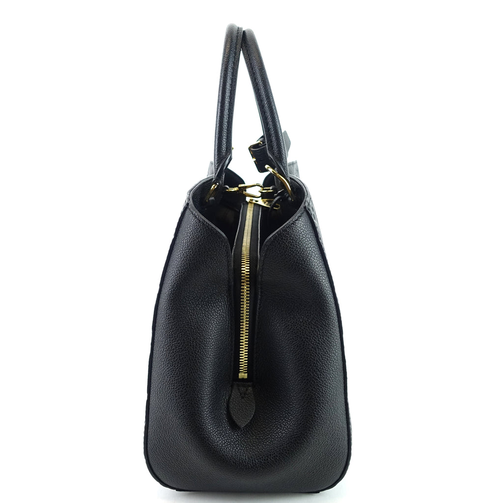 Montaigne MM Monogram Empreinte Leather Bag