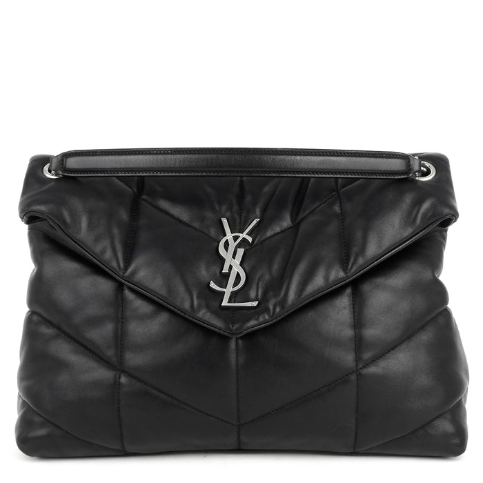 Loulou Puffer Medium Lambskin Leather Bag