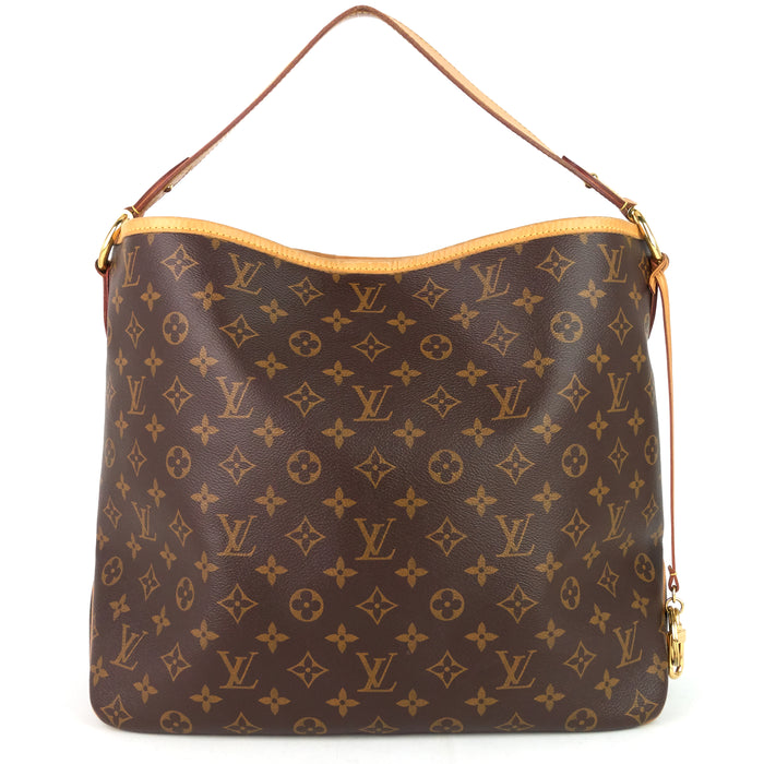 Delightful NM MM Monogram Canvas Bag