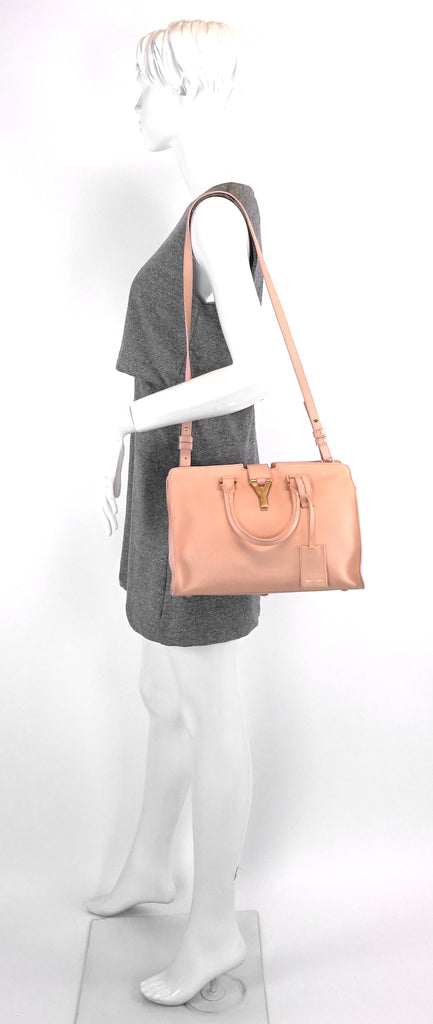 Classic Y Cabas Small Calf Leather Bag