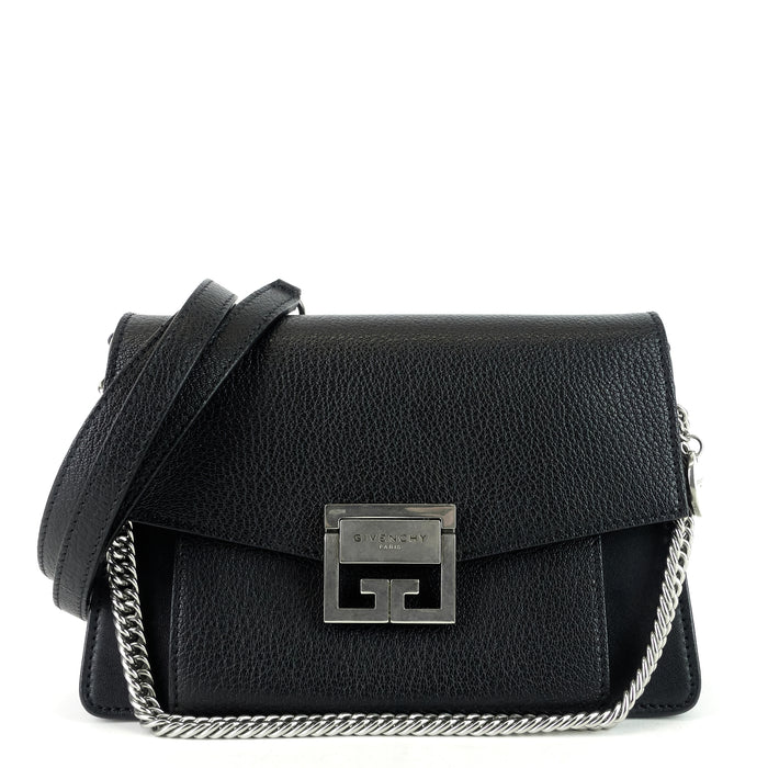 GV3 Small Leather Flap Bag
