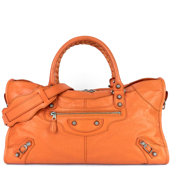 Part Time Classic Studs Leather Handbag