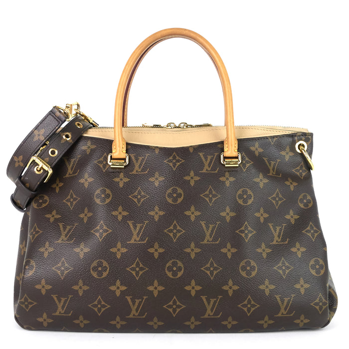 Pallas Monogram Canvas Shoulder Bag