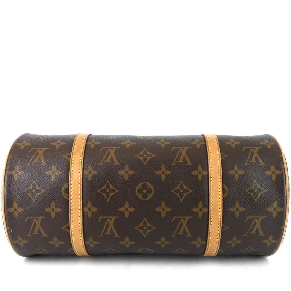 Papillon 30 Monogram Canvas Bag