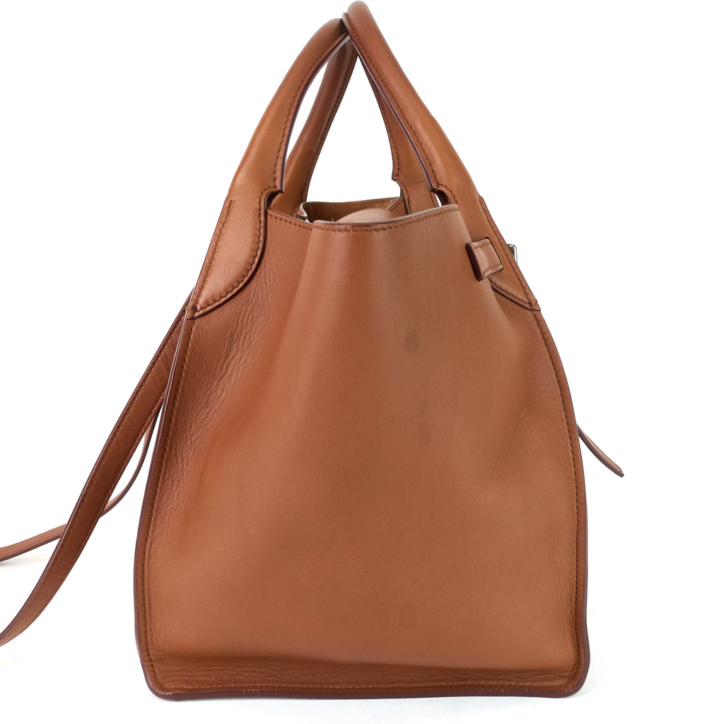Big Bag Small Smooth Calf Leather Bag