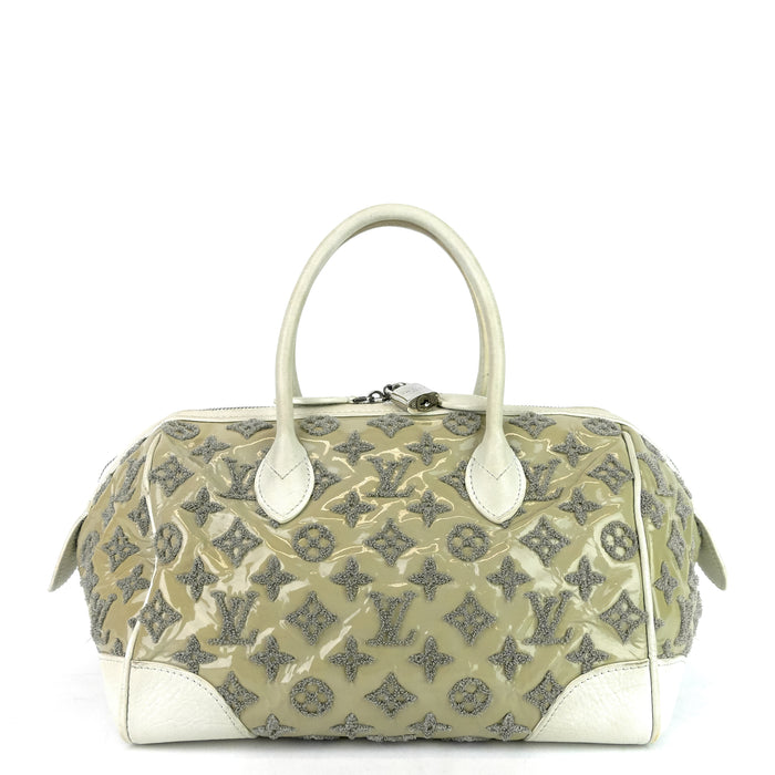 Round Speedy Monogram Bouclettes Bag