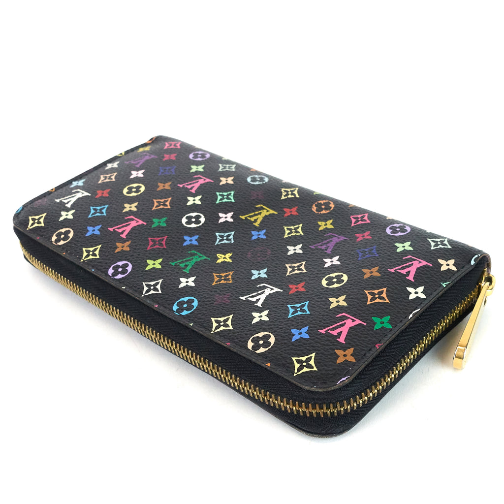 Monogram Multicolore Canvas Zippy Wallet